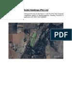 Arziki Holdings -Mining Permit Area on Onspoed 11 & 19