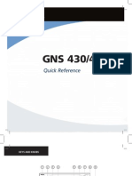 GNS430 Quick Reference Guide