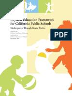 physical education framework