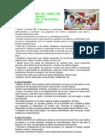 ORIENTACIONES DE CARÁCTER GENERAL