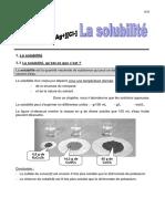 La Solubilite - Theorie -2017 (1)