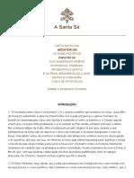 Mediator Dei - Pio XII