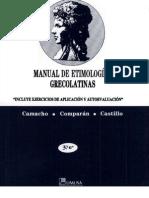 Manual de Etimologías Grecolatinas
