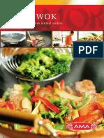 Wok Broschuere
