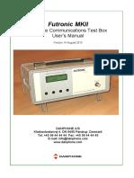 Futronic Mk II Manual