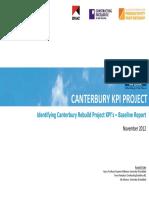 Canterbury Rebuild Kpis Project Full Report