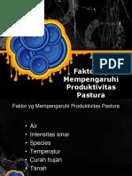 faktor Pengaruhi Produktivitas Pastura