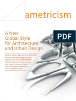 Parametricism a New Global Style for Arc