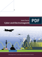 UK Cyber and Electromagnetic Activities (Joint Doctrine Note 1/18)