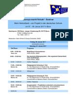 EmS Seminar Programm 07.-08.01.2017