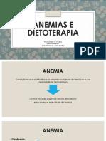 Anemia e Dietoterapia
