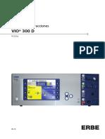 2910 - Electrobisturí de Argón - Manual de Usuario