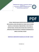 Studiu Privind Analiza Raporturilor Hidraulice...