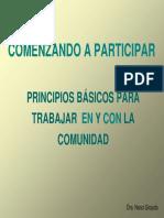 Participacion Comunitaria Ezequier Ender