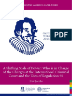 A Shifting Scale of Power - Who is in Charge of the Charges at the International Criminal Court and the Uses of Regulation 55