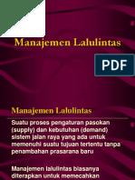 Manajemen Lalin
