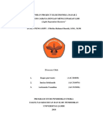 laporan sensor LDR berbasis cahaya