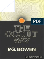 The Occult Way - P.G. Bowen