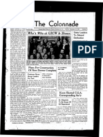 The Colonnade, November 19, 1938