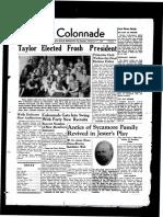 The Colonnade, November 11, 1939