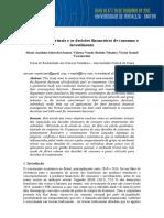 Os Ambientes Virtuais e as Decisões Financeiras de Consumo e Investimento