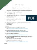 5 Titles Per Research Design