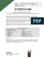 Deterfos 040