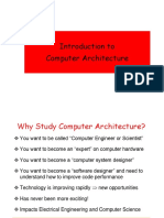 Introduction to Cmputer Architecture