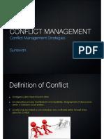 Conflict Management Strategies