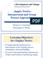 Ch12 Interpersonal and Group Approach