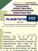 Departamentalización Estructuras Tipo - Planetatareas.blogspot.com