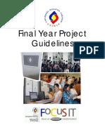 FCSIT FYP Guidelines