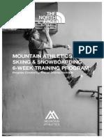 Mountain Athletics - Facebook Live Program