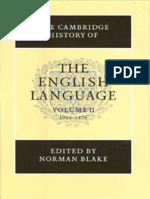 Normanblakethecambridgehistoryoftheenglisbookfi