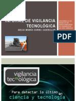 Informe de Vigilancia Tecnológica