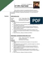 Currículo Profesional - JC