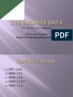 Site Engineer Diary