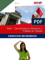 Taller de Comunicación Efectiva y Trabajo en Equipo Para Servir