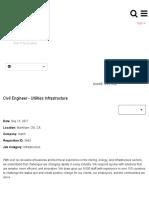 Civil Engineer - Utilities Infrastructure