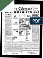 The Colonnade, September 22, 1947