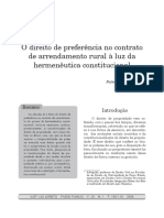 O Direito de Preferência No Contrato de Arrendamento Rural à Luz ... - UP