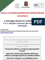 URB 423 - 4.3.1 - Drenagem Pluvial - Soluções Sustentáveis