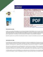 Nueva Politica Farmaceutica. 2004