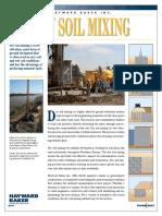 Hayward Baker Dry Soil Mixing Brochure