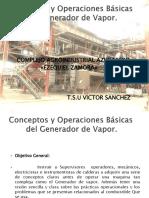 Conceptos y Operaciones Básicas de Generadores de Vapor