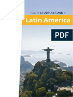 How to Study Abroad in Latin America