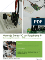 Montaje 003 - Montaje Sensor Temperatura con Raspberry Pi - Menudos Makers - AOSS.iO Educación
