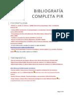 Bibliografía Completa PIR