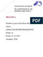 Practica Lenguaje
