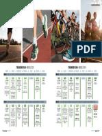 4 Week Duathlon Training Plan